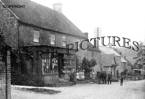 Ludwell, Village Store c1900