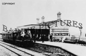 Abbotsbury, The Station c1900