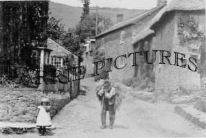 Abbotsbury, Village c1890
