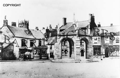 Beaminster, The Square c1890