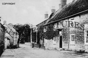 Beaminster, Royal Oak Inn c1890