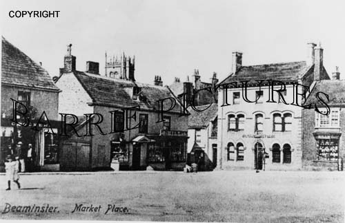 Beaminster, Market Place c1900
