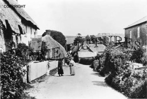 Bingham's Melcombe, Village c1910
