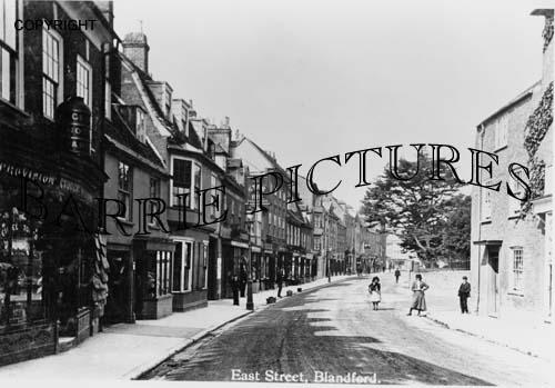 Blandford, East Street c1910