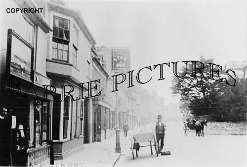 Blandford, East Street c1900