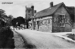 Bradford Abbas, Village and Church c1910