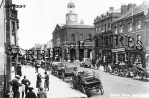 Bridport, Town Hall c1930
