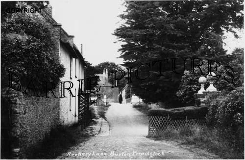 Burton Bradstock, Rookery Lane c1900
