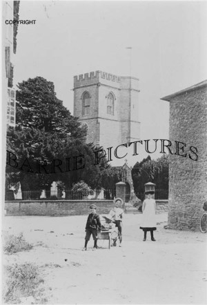 Burton Bradstock, St Mary's Church c1900