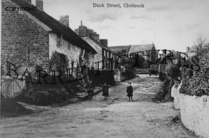 Chideock, Duck Street c1900