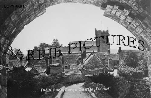 Corfe Castle, The Church c1900
