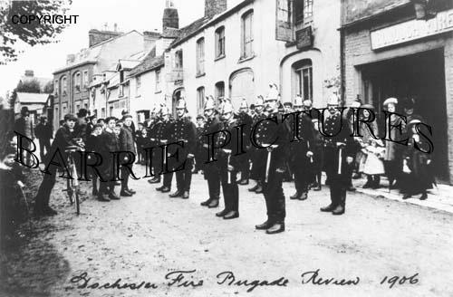 Dorchester, Fire Brigade Review 1906