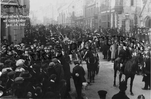 Dorchester, Cattistock Hounds Jan 14th 1911