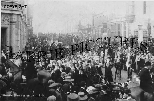 Dorchester, Cattistock Hounds Jan 15th 1909