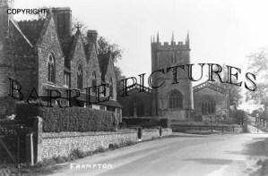 Frampton, Church c1930