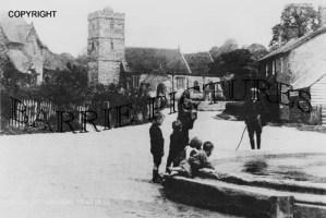 Hinton Martel, Church Street c1910
