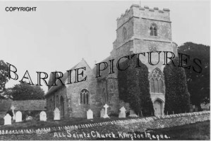 Kington Magna, All Saints Church c1920