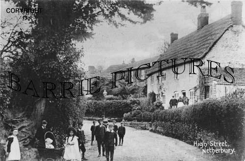 Netherbury, High Street c1900