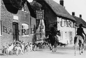 Okeford Fitzpaine, The New Inn c1925