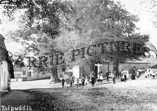 Tolpuddle, Village c1910