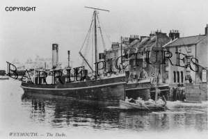 Weymouth, The Docks c1918