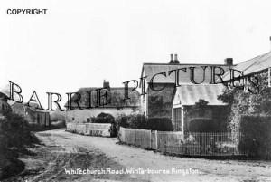 Winterborne Kingston, Whitechurch Road c1900
