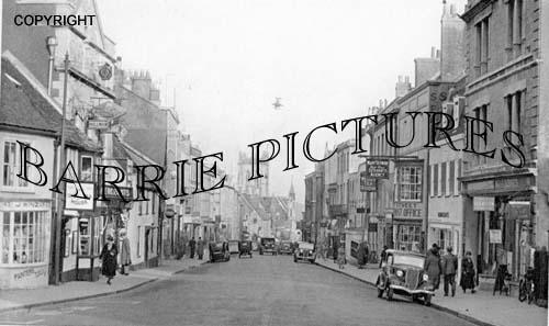 Dorchester,  High West Street c1950