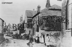Broadmayne, The Compasses Inn c1890