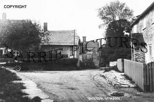 Hinton St Mary, Village c1920