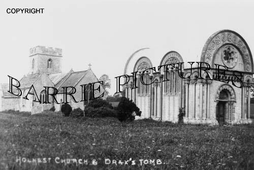 Holnest, Church and Drax's Tomb c1890