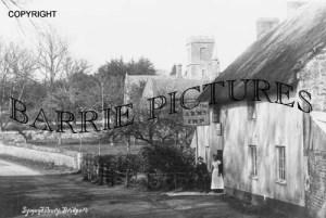 Symondsbury, Ilchester Arms Inn 1910