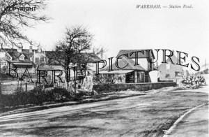 Wareham, Station Road c1890