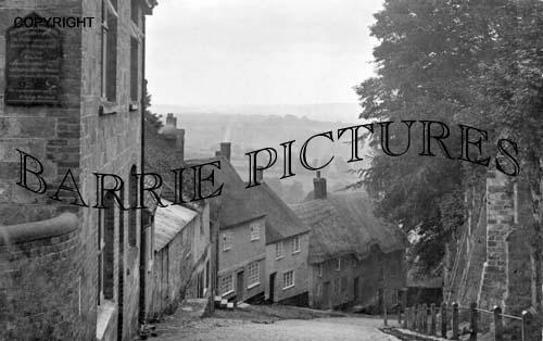 Shaftesbury, Gold Hill c1910