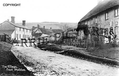 East Chaldon, Post Office and Village c1900