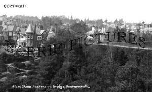 Bournemouth, Alum Chime Suspension Bridge c1930