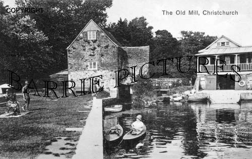 Christchurch, The Old Mill c1900
