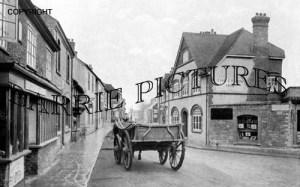 Stalbridge, High Street 1918