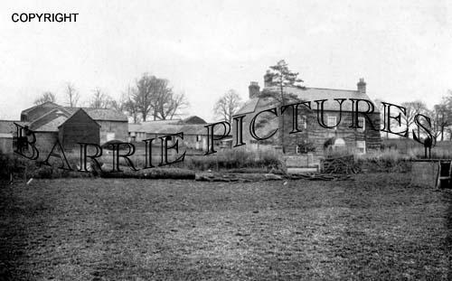 Todber, Manor Farm 1918
