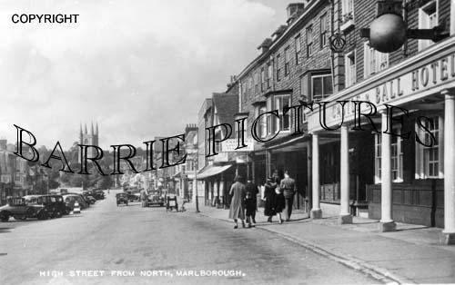 Marlborough, High Street c1955