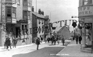Lyme Regis, Broad Street c1920