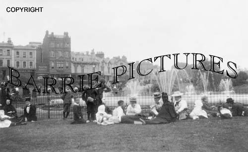Bournemouth, Central Gardens 1896