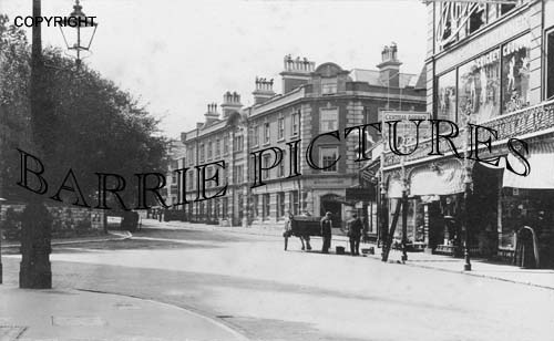 Bournemouth, Gervis Road / Hinton Road 1910