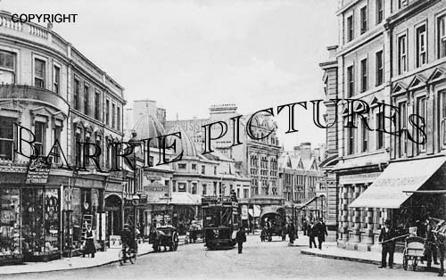 Bournemouth, Old Christchurch Road 1905