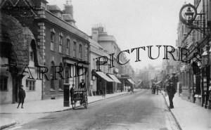 Poole, High Street 1902