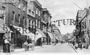 Poole, High Street 1905