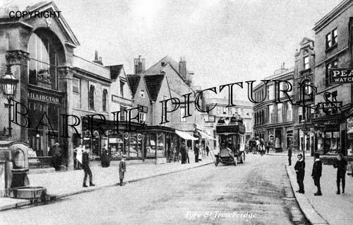 Trowbridge, Fore Street c1895