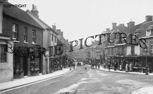 Blandford, Salisbury Street 1909