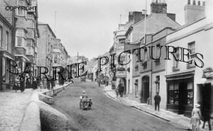 Lyme Regis, Broad Street 1925