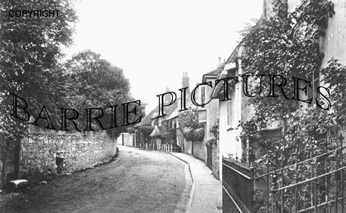 Lyme Regis, Station Road c1910