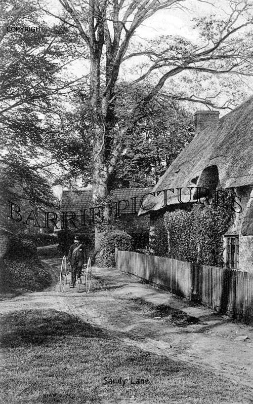 Sandy Lane, Village c1905